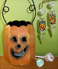 Pumpkin Patch Crystal Drop