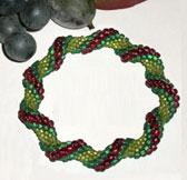 Raised Spiral Bracelet