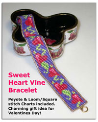 Sweet Heart Vine Bracelet