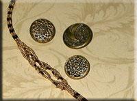 Golden Braid Necklace