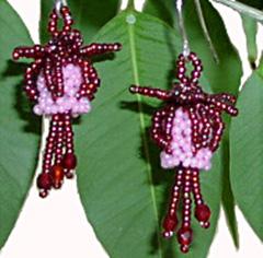 Fabulous Fuchsia Earrings