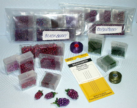 Yummy Berry Bead Kits
