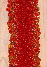 Flame Fringe Bracelet