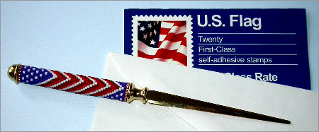 For Him - Flag Letter Opener