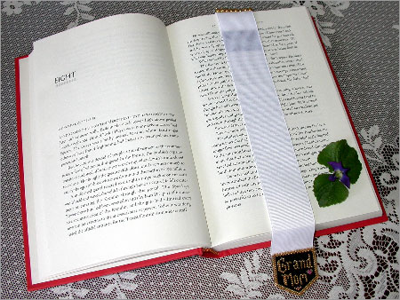For Her - Ribbon Book Mark