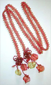 Chevron Chain Belt or Lariat