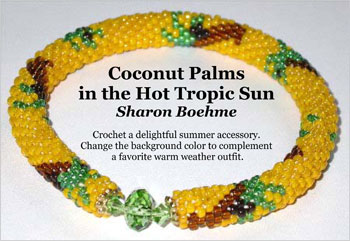 Coconut Palms in the Hot Tropic Sun Bracelet