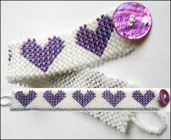 Layered Hearts Bracelet