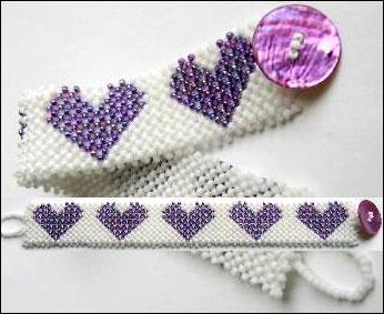 Layered Hearts Bracelet