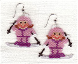 Snow Bunny Earrings