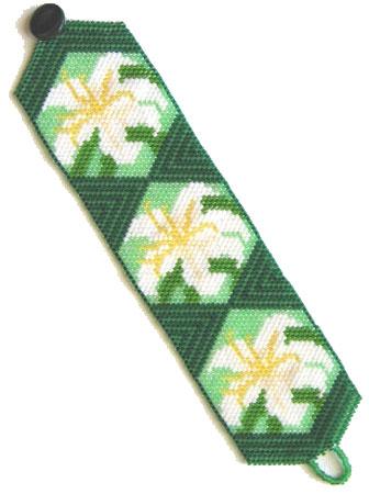 Easter Lilies Bracelet