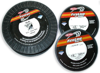Fireline - More thread on a smaller spool