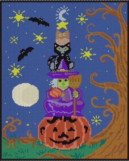 Halloween Fun Tapestry