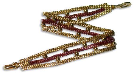 Tiny Delicas & Dots Bracelet