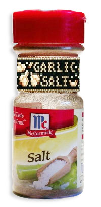 Garlic Salt & Garlic Powder Spice Labels (Peyote Band)