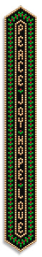Christmas Ribbon Bookmark or Bracelet